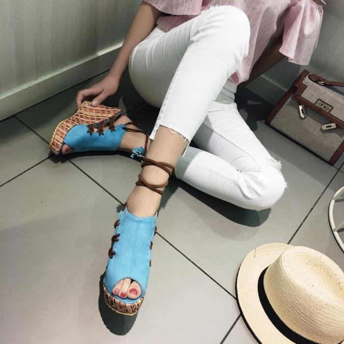 SANDALE - NU-PIEDS Mode ethnique bohème toes couleur velours Sandales