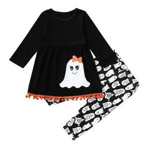 4cc5feeb5ded0 ... Ensemble de vêtements Tout-petit bébé fille manches longues Imprimer  Tas ...