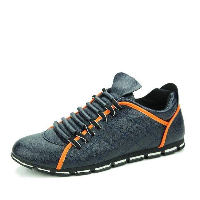 Chaussure De Course Maille Respirante Occasionnels Deluxe Ultra-RéSistant à L'Abrasion Homme Bleu R39089570_110 KuPCkRZQ