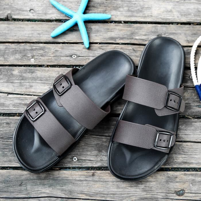 6495@hommes Doux D'été 7869 Loisirs Confortables Chaussons Tongs Sandales Chaussures rWPfcgZr