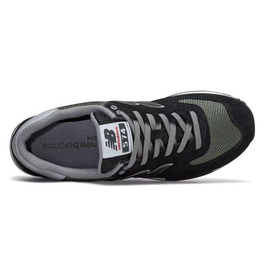 Baskets New Balance 574 noirvert