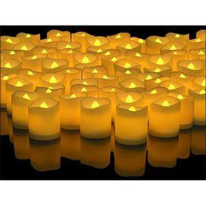 BOUGIE DECORATIVE 144pcs Bougies A LED Sans Flamme Lampes De