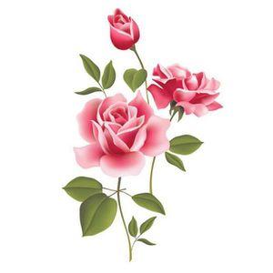 Stickers muraux fleurs rose achat vente stickers for Livraison fleurs pas cher livraison gratuite