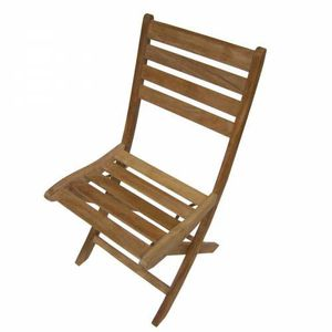 Lot de 2 Chaises pliantes Teck TFT MEDICIS - Achat / Vente fauteuil ...