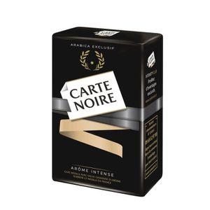 CAFÉ CARTE NOIR Café moulu Arôme Intense Arabica Exclus