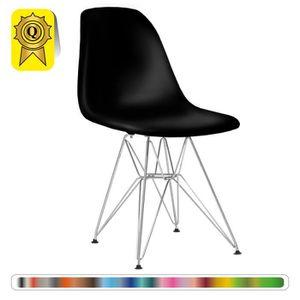 CHAISE 1 X Chaise Design Inspiration Eiffel Noir Pieds