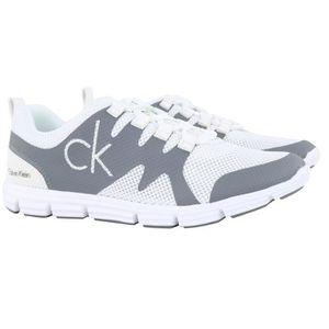 BASKET Calvin Klein Basket Blanc Gris MURPHY MESH (Blanc