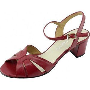 SANDALE - NU-PIEDS LARA - Sandales talon bottier stable chaussures cl ... f52e8fd8b2fd