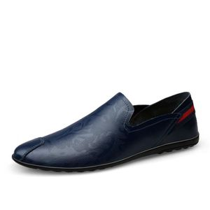 33f85f442c0c7b MOCASSIN Hommes Chaussures Luxe Casual Hommes Mocassins Moc