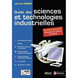MANUEL LYCÉE PRO Livre - guide des sciences et technologies industr