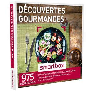 COFFRET GASTROMONIE Coffret cadeau - Découvertes gourmandes - Smartbox