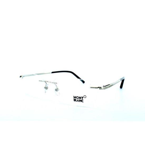 35af5b66f8180c Lunettes de vue pour homme MONT BLANC MB 293 01... Blanc, Argent, Métal -  Achat   Vente lunettes de vue Lunettes de vue pour homme ... Homme -  Cdiscoun