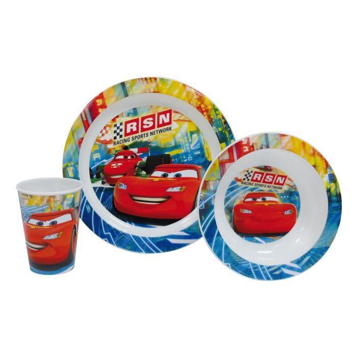 CARS Coffret Repas 3 pièces