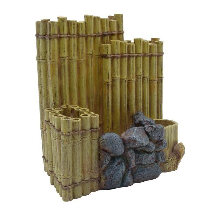 D coration aquarium bambou pour gamme edge achat vente for Tige de bois pour decoration