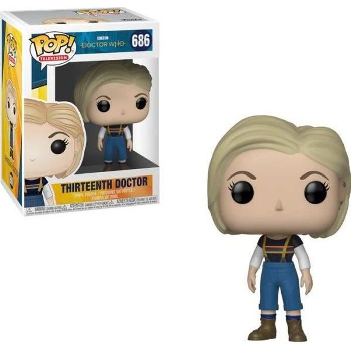 Figurine Funko Pop! Doctor Who: 13 ème Docteur (sans manteau)