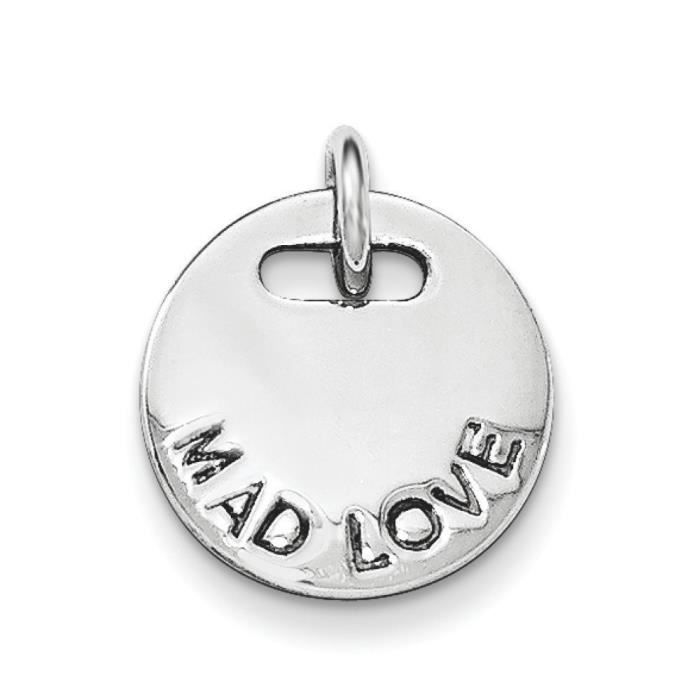 Argent Sterling poli-Mad Amour