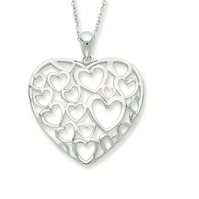 Argent Sterling You Are Loved More Than You Know-Chaîne de 46 cm