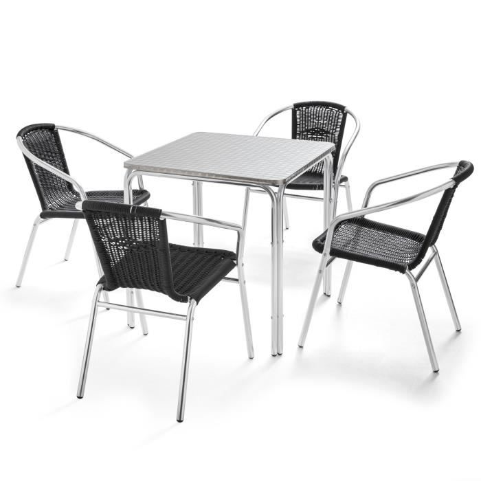 table bistrot jardin - achat / vente table bistrot jardin pas cher