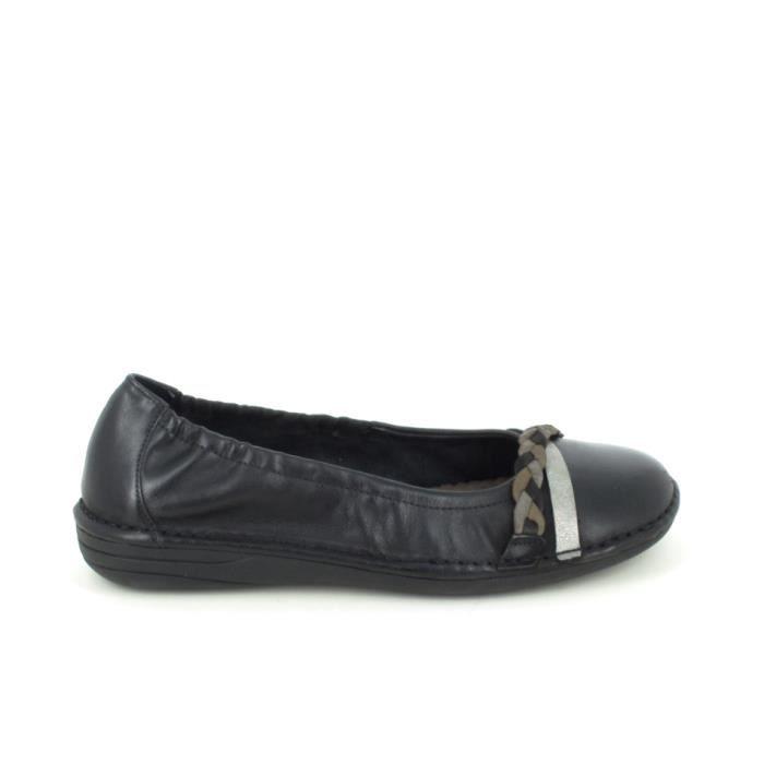 Chaussure de ville JANA Ballerine 25001 Noir