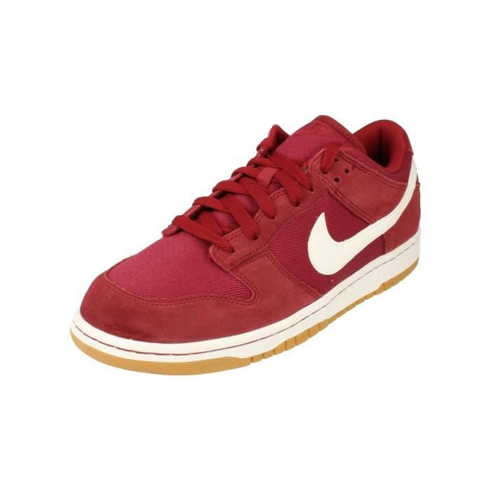 new product 57c3b afd0d BASKET Nike Dunk Low Canvas Hommes Trainers Aa1056 Sneake