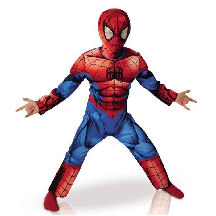 Déguisement enfant Spiderman - Achat   Vente pas cher - Cdiscount 7b76ad8fac2e
