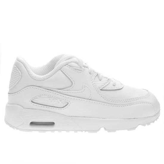 finest selection fb58a 5689b BASKET NIKE AIR MAX 90 LTR (TD) TAILLE 27 COD 833416-100 Blanc Blanc -  Achat  Vente basket - Cdiscount