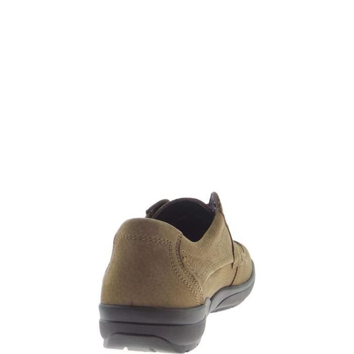 Mephisto Lace Shoes Homme Dark Taupe