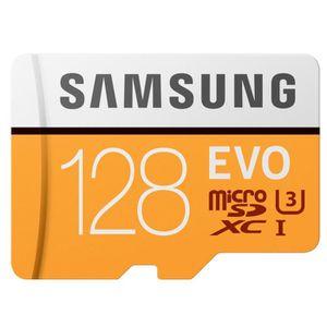 CARTE MÉMOIRE Samsung Carte Micro SD Evo 128Go