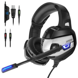 CASQUE AVEC MICROPHONE Casque Gaming - Casque Gamer pour PS4 Xbox One PC