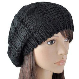 CHAPEAU - BOB ILOVEDIY Chapeau d hiver Beanie Bonnet Laine Femme f246b803c2c