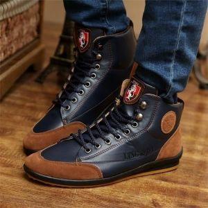 Hiver Armée Bottes Femmes   Hommes militaire Desert Boot Chaussures Homme  Automne respirante Bottes cheville neige Botas Bleu Bleu - Achat   Vente  botte - ... ec6e524b182f