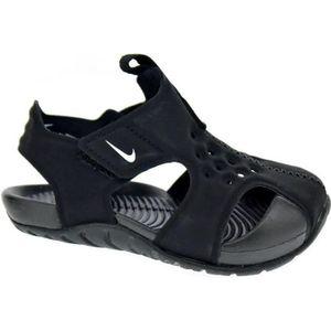 quality design 6974a 76667 BASKET Tongs - Nike Sunray Protect 2 Garçon Noir 21