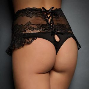 77e6d77f55 BOXER - SHORTY Femmes Sexy Bandage Dentelle Culottes Lingerie Sou ...