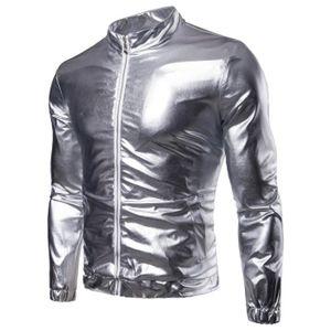 BLOUSON Blouson Homme Perfecto Court Jacket Mode Léger Ves
