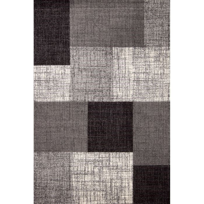 tapis de salon mondo gris 200x290 cm achat vente tapis 100 polypropyl ne cdiscount. Black Bedroom Furniture Sets. Home Design Ideas