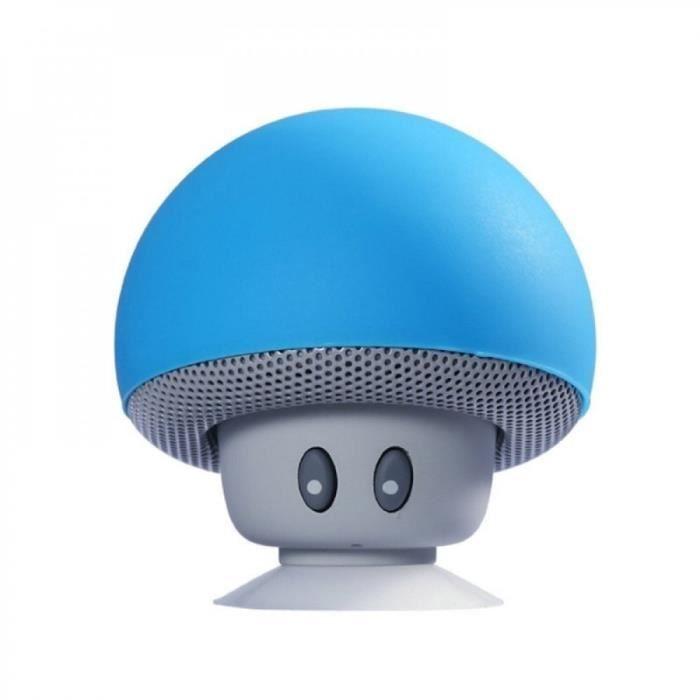 Portable Haut-parleurs Blue Electronique Mignon Mini Sans Fil Bluetooth Haut-parleur Champignon