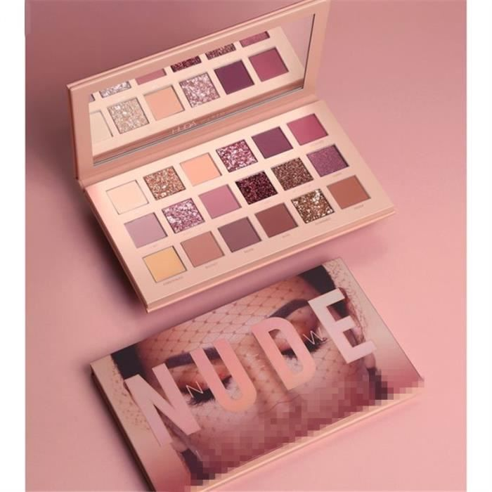 SOIN DES CILS Huda Beauty的The New Nude Eyeshadow Palette 18 colo