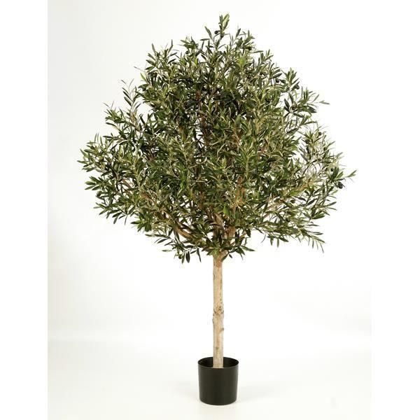 olivier artificiel sur tige 13728 feuilles 210 cm arbre synth tique plante artificielle. Black Bedroom Furniture Sets. Home Design Ideas