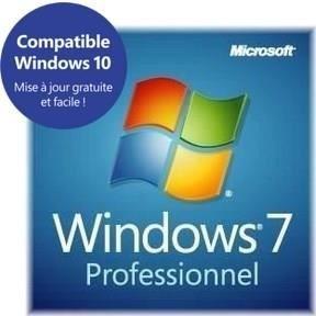 SYSTÈME D'EXPLOITATION Windows 7 Professionnel 64 bits OEM