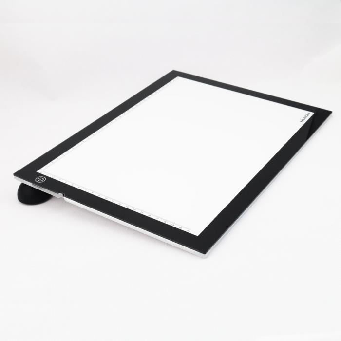 Huion led r glable pad tablette lumineuse a3 avec achat for Table lumineuse a3