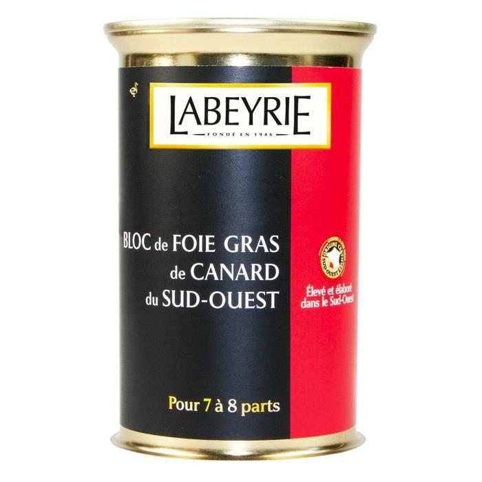 FOIE GRAS Labeyrie Bloc de Foie Gras de Canard du Sud-Ouest