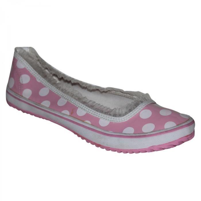 samples shoes DRAVEN DOT MULE PINK WHITE WOMEN