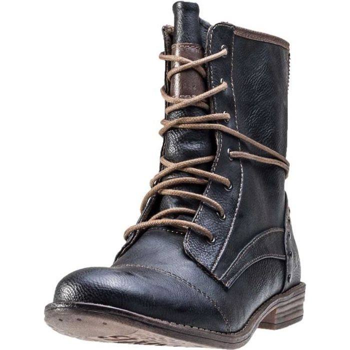 BOTTE Mustang Ankle Boot Femmes Bottes Anthracite , 40 E