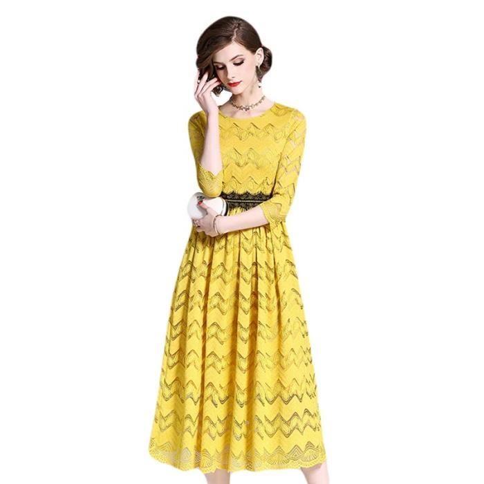 réduction jusqu'à 60% vente en ligne vente chaude réel Robe Soirée Femme Longue élégant Robe Femme été