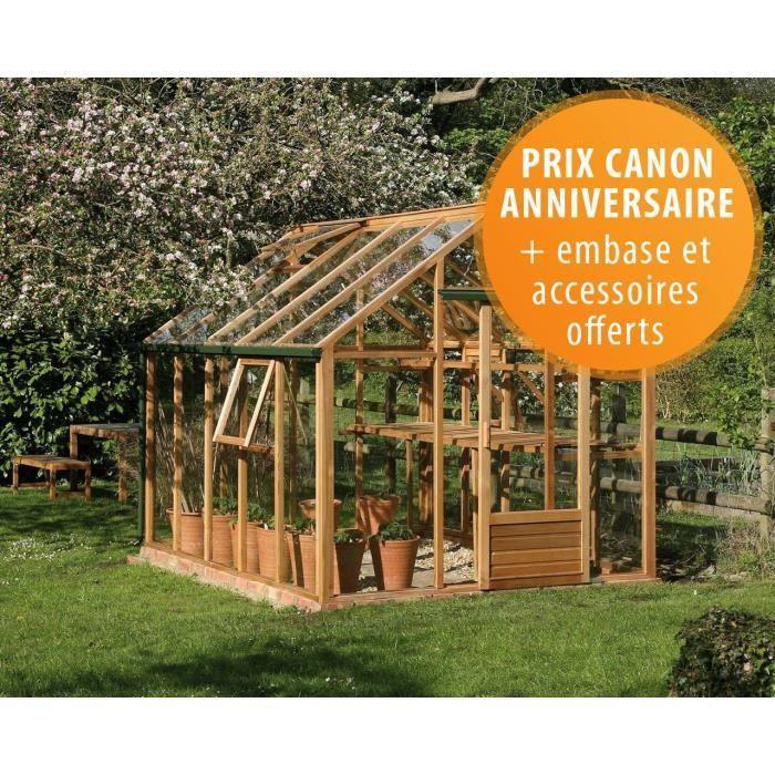 Spéciale : Serre de jardin en bois et verre tr… - Achat / Vente ...