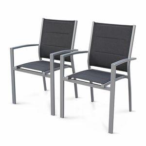 Chaise Empilable Jardin Aluminium Achat Vente Pas Cher