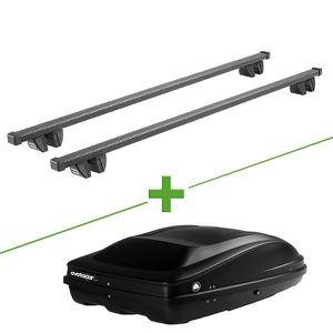 BARRES DE TOIT Pack barres et coffre de toit Cruz Oplus + Wabb M