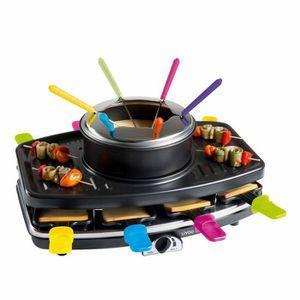 APPAREIL À RACLETTE DOMOCLIP DOC107 Appareil à raclette et fondue 8 pe