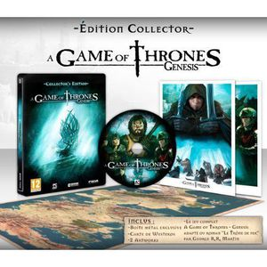 JEU PC A game of thrones : Genesis - édition collector