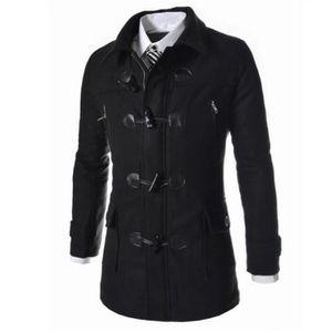 design intemporel 38485 0abc5 Manteau duffle coat homme